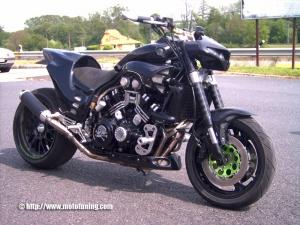 Обзор мотоцикла Yamaha V-max 1200 — BikesWiki - энциклопедия ...
